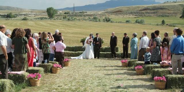 K3 Guest Ranch wedding Wyoming
