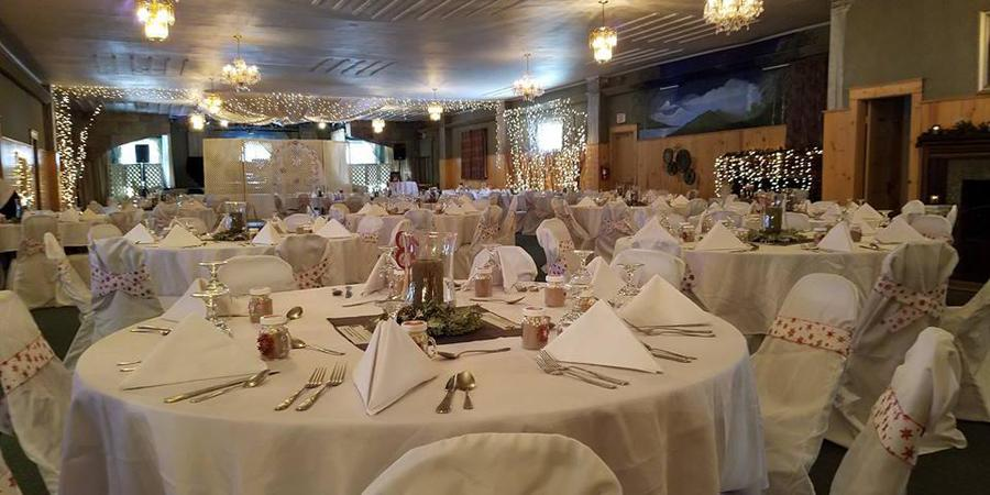 White Mountain Chalet and Chalet Caterers wedding Great North Woods/White Mountains