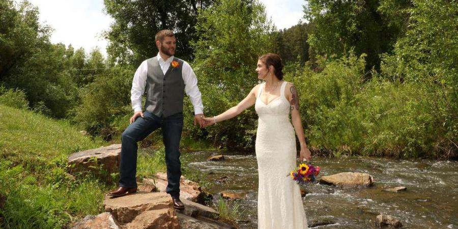 Deadwood Gulch Resort wedding South Dakota