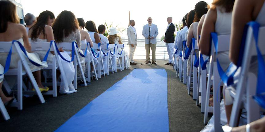 Aqua Azul Yacht wedding Manhattan