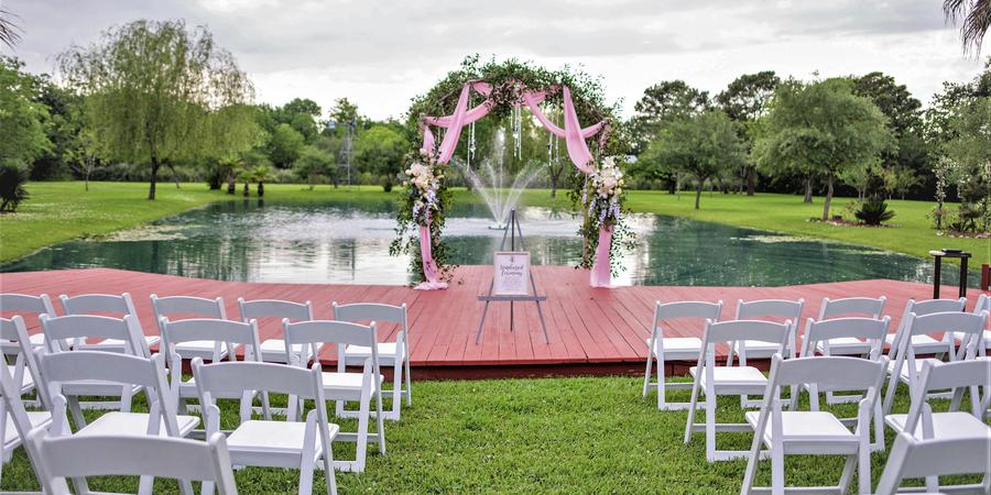 Kemah Gardens wedding Houston