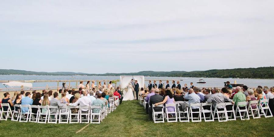 Sommerset Pointe Yacht Club wedding Traverse City