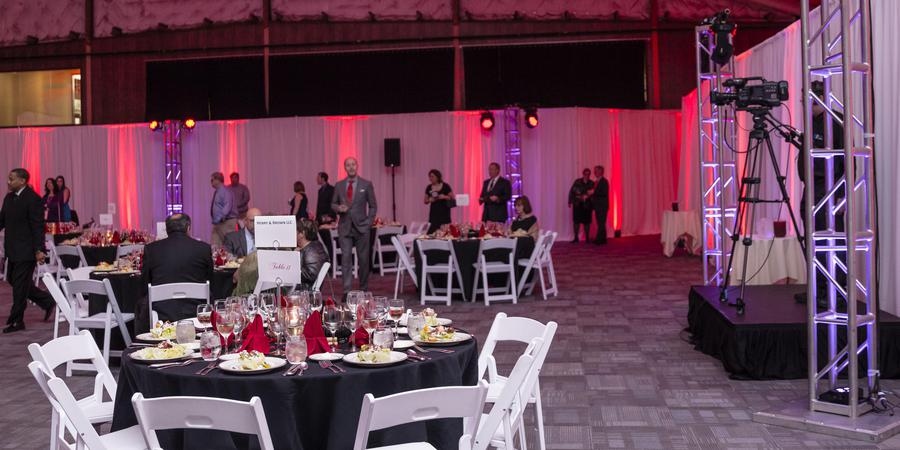 The Social at Athletic Club Alabama wedding Huntsville