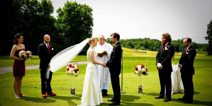 Lake Doster Golf Club wedding Kalamazoo