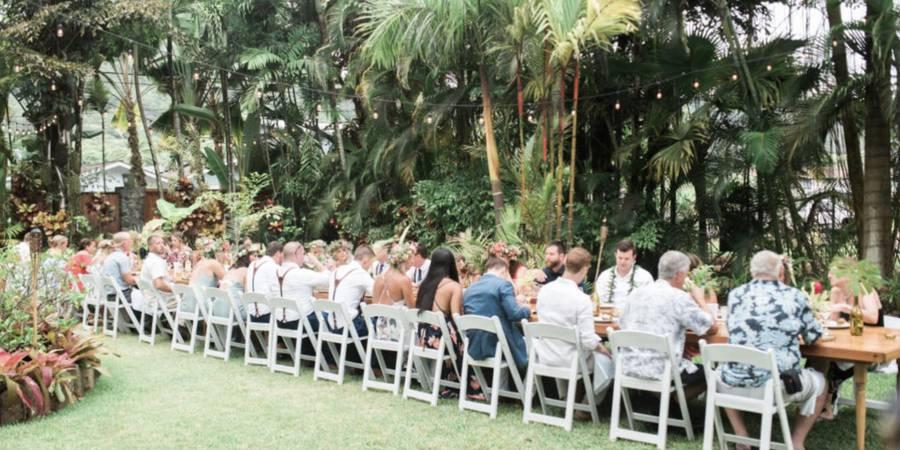 O'ahu Wedding Villa wedding Oahu