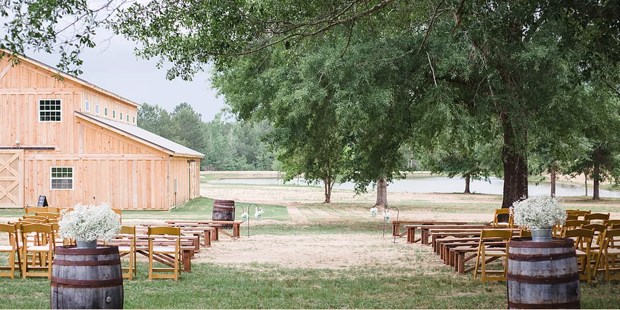 The Farm at Lullwater wedding Southern Alabama