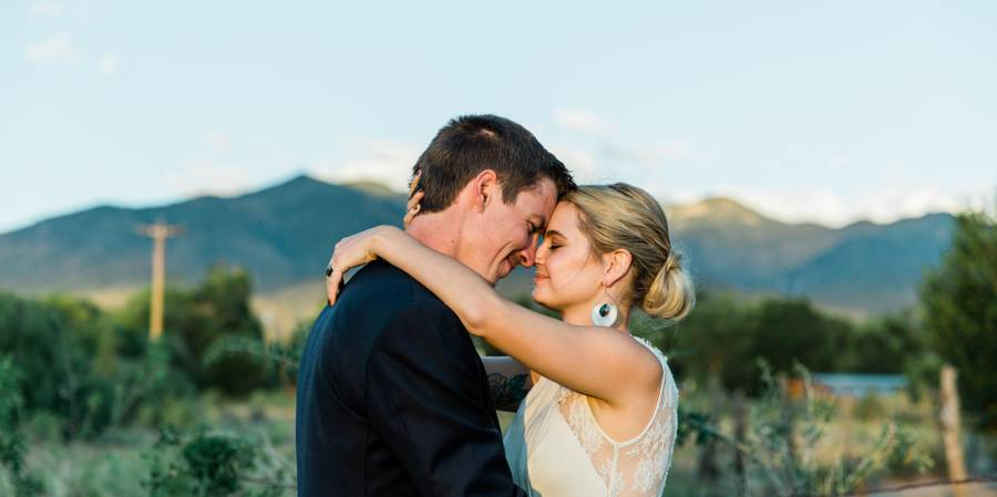 Taos Goji Farm & Eco Lodge wedding New Mexico