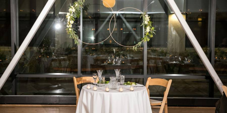 Greenhouse Loft wedding Chicago