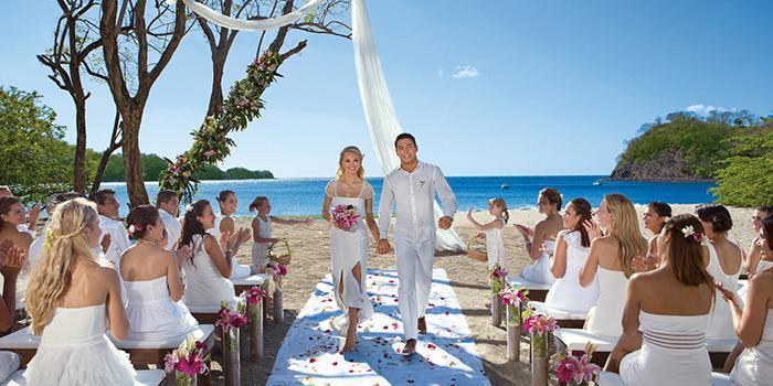 Dreams Las Mareas Costa Rica wedding Costa Rica
