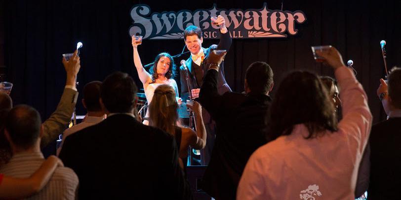 Sweet Water Music Hall wedding Marin
