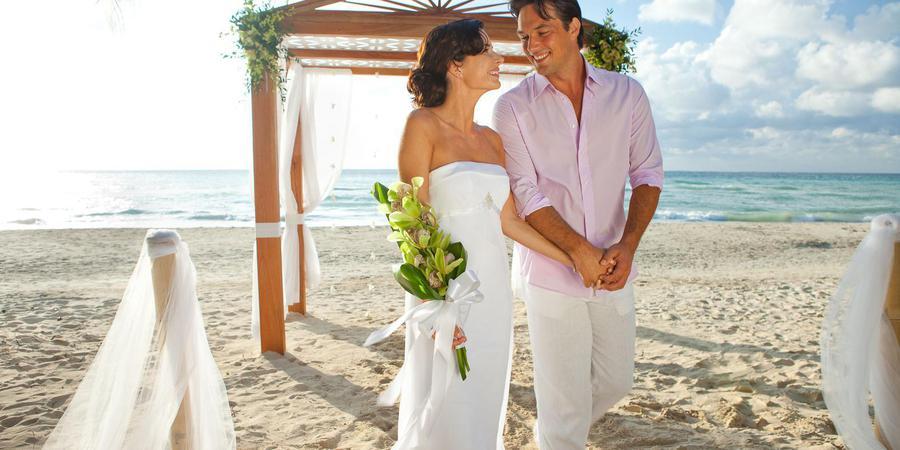 Couples Swept Away wedding Jamaica