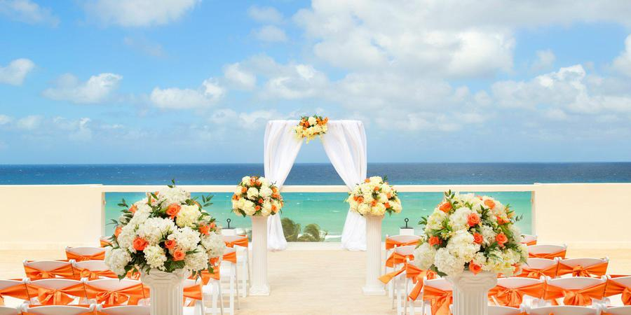 Hyatt Ziva Rose Hall wedding Jamaica