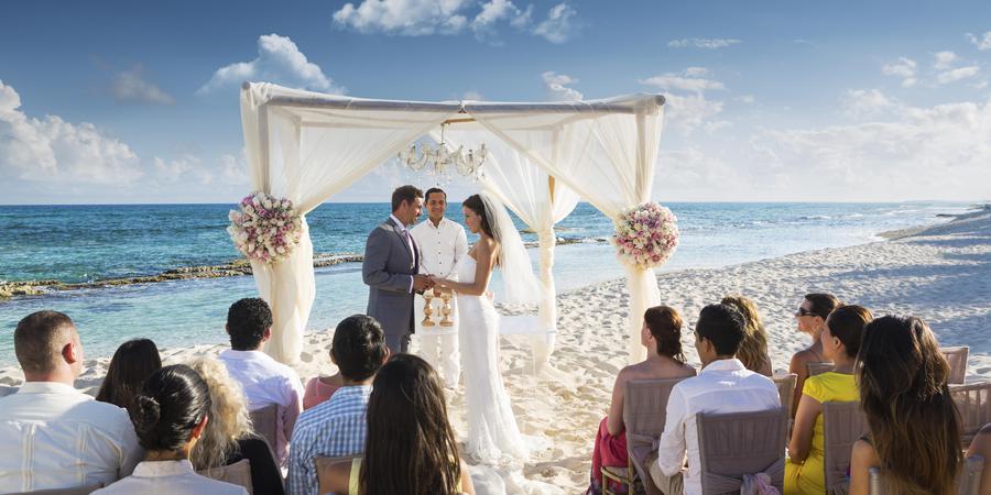 El Dorado Casitas Royale wedding Mexico