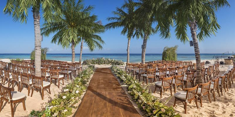 Hotel Xcaret Mexico wedding Mexico