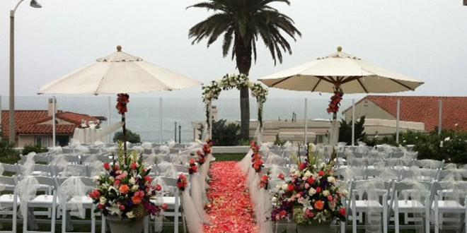 Carlsbad Inn Beach Resort and Hotel wedding San Diego