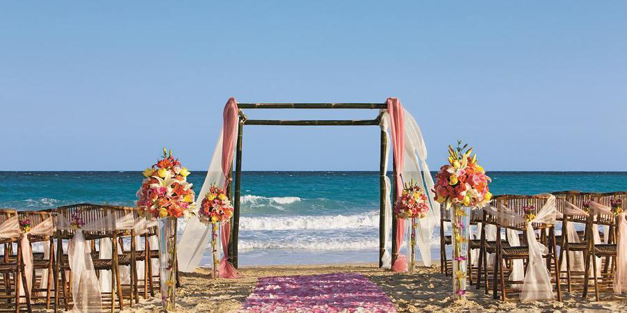 Now Jade Riviera Cancun wedding Mexico