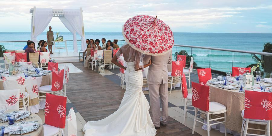 The Fives Azul Beach Resort Playa del Carmen, by Karisma wedding Mexico