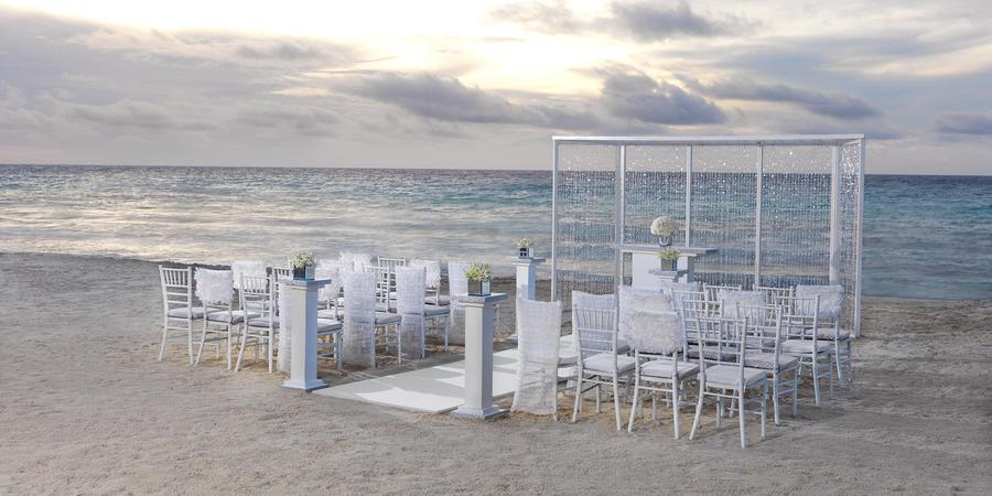 The Grand at Moon Palace Cancun wedding Mexico