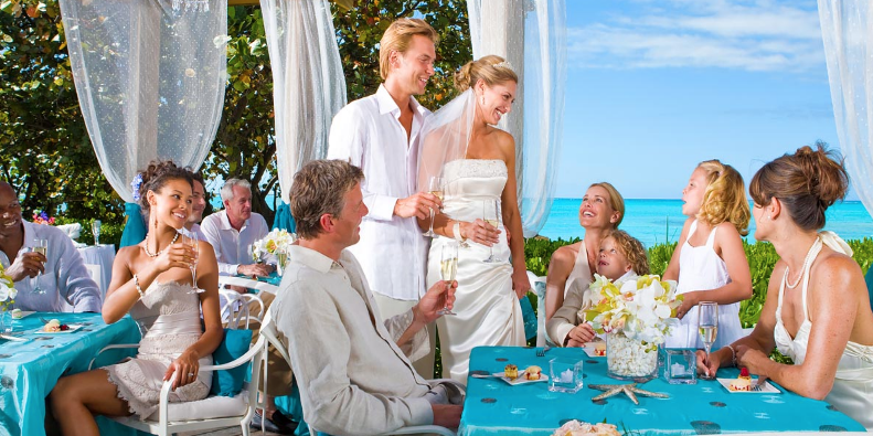 Beaches Turks and Caicos Resort Villages and Spa wedding Caribbean Islands