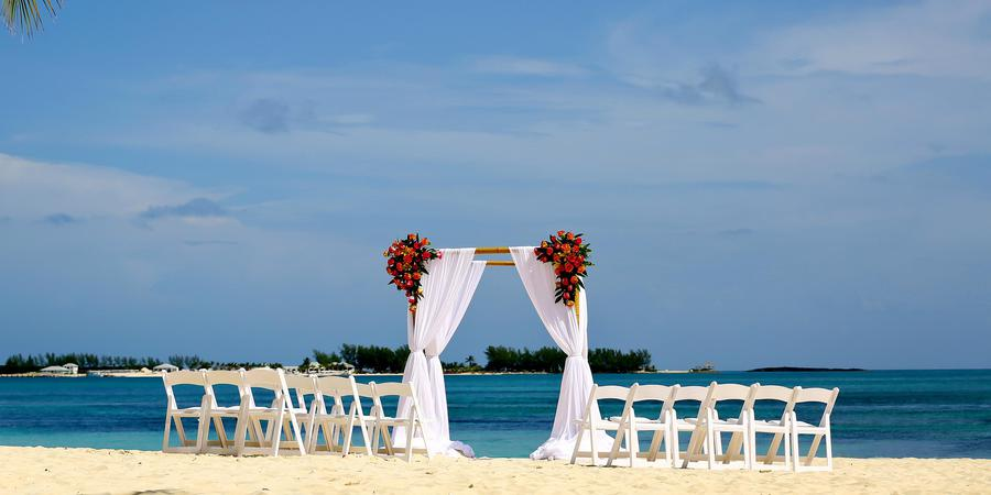 Melia Nassau Beach wedding Caribbean Islands