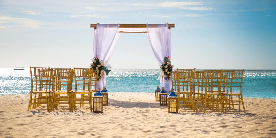 Riu Palace Aruba wedding Caribbean Islands
