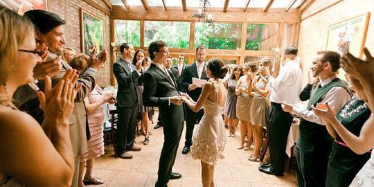 Scottadito Osteria Toscana wedding Brooklyn