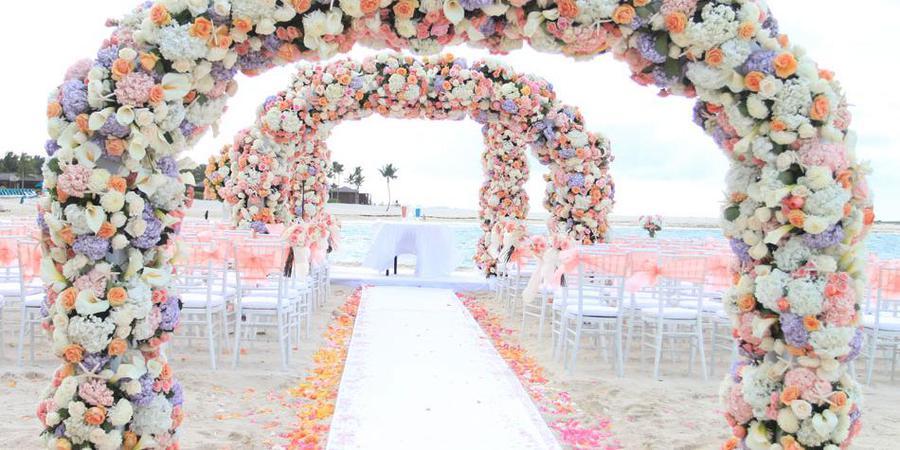 The Reef Atlantis wedding Caribbean Islands