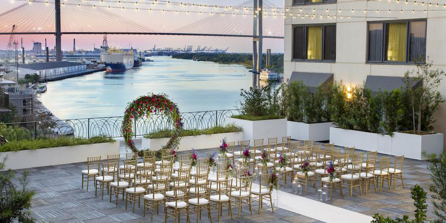 Hyatt Regency Savannah wedding Savannah