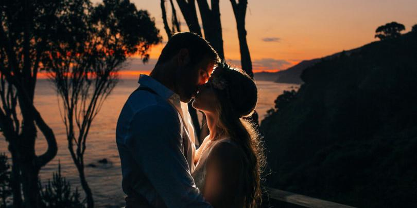 Wind and Sea wedding Monterey/Carmel Valley