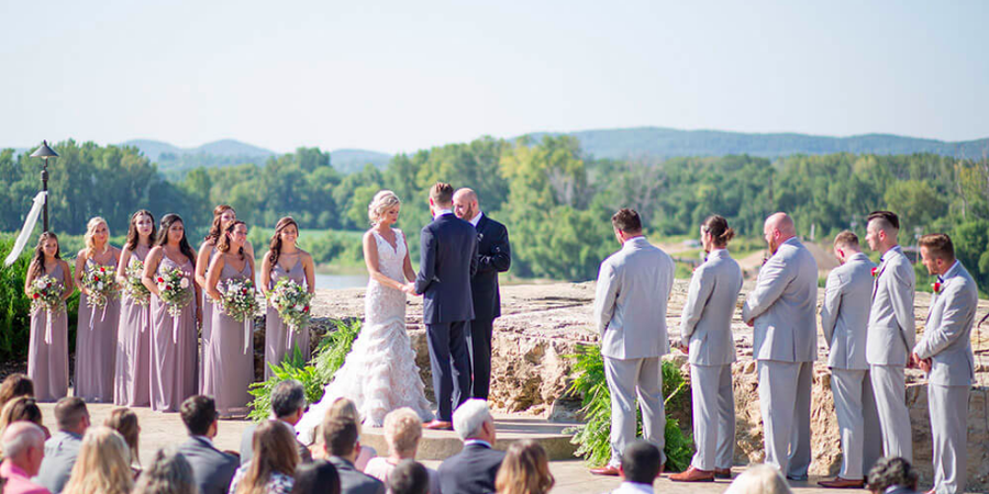 Hermann Hill Weddings wedding St. Louis