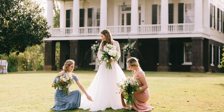 Glen Mary Historic Home and Gardens wedding Atlanta