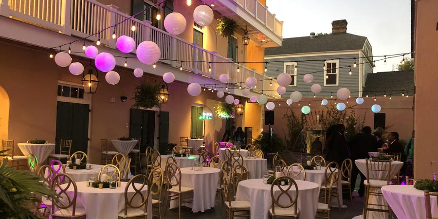 The Royal Frenchmen Hotel wedding New Orleans