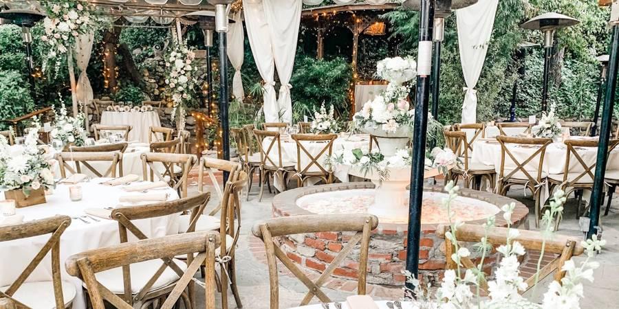 Inn of the Seventh Ray wedding Los Angeles