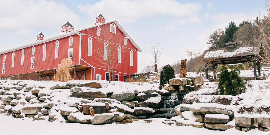 The Barn at Maple Falls wedding Central PA
