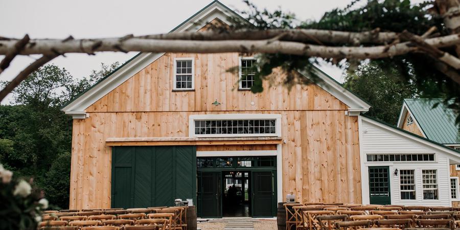 The Barn at Powder Major's Farm wedding Merrimack