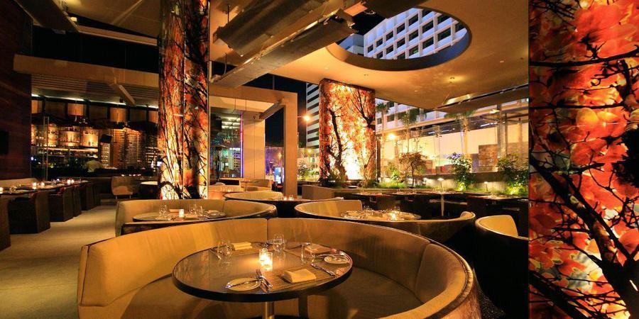 BOA Steakhouse West Hollywood wedding Los Angeles