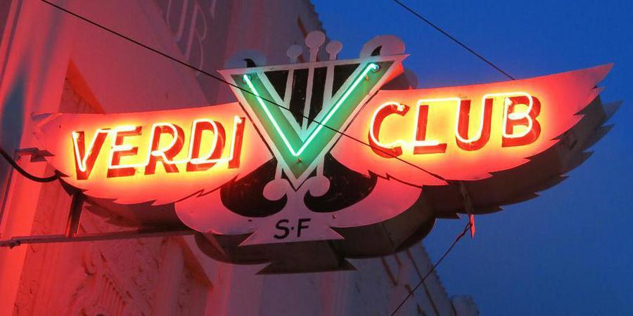 Verdi Club wedding San Francisco
