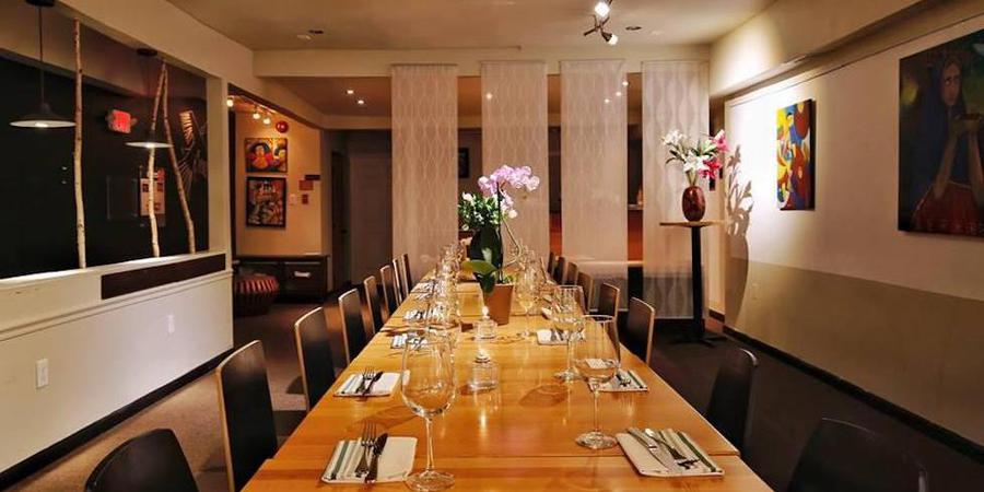 NazcaMochica Restaurant wedding Washington DC