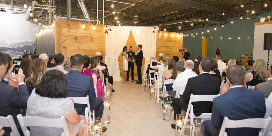 Pontoon Brewing wedding Atlanta