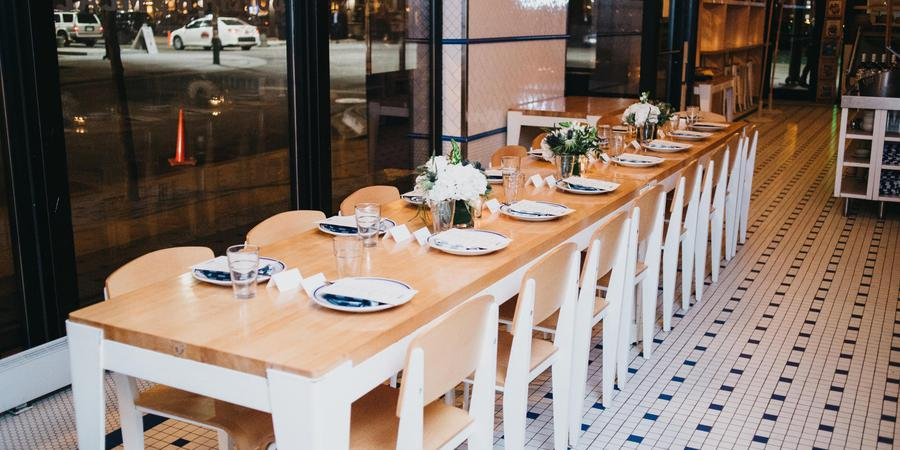 The Publican Private Dining wedding Chicago