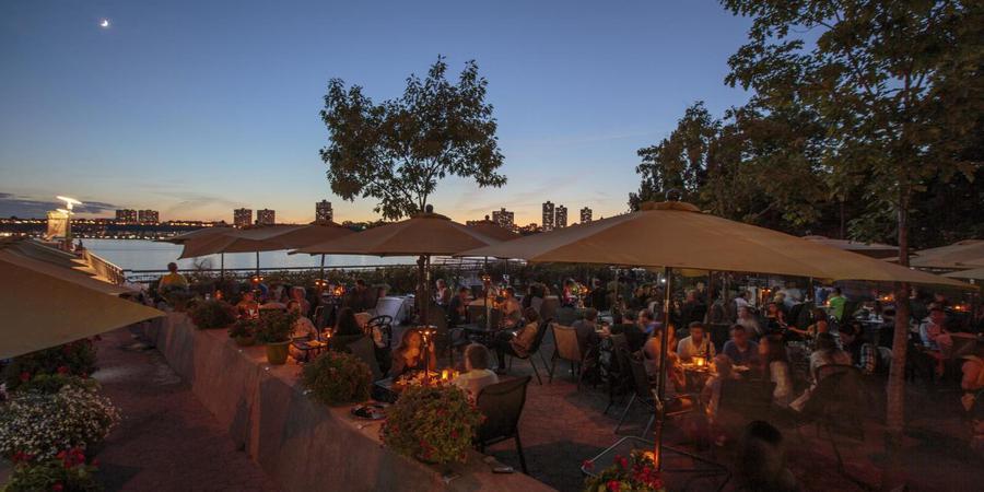 Pier i Cafe wedding Manhattan