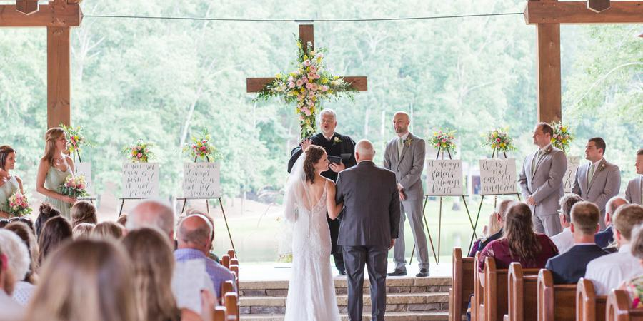 In The Woods wedding Atlanta