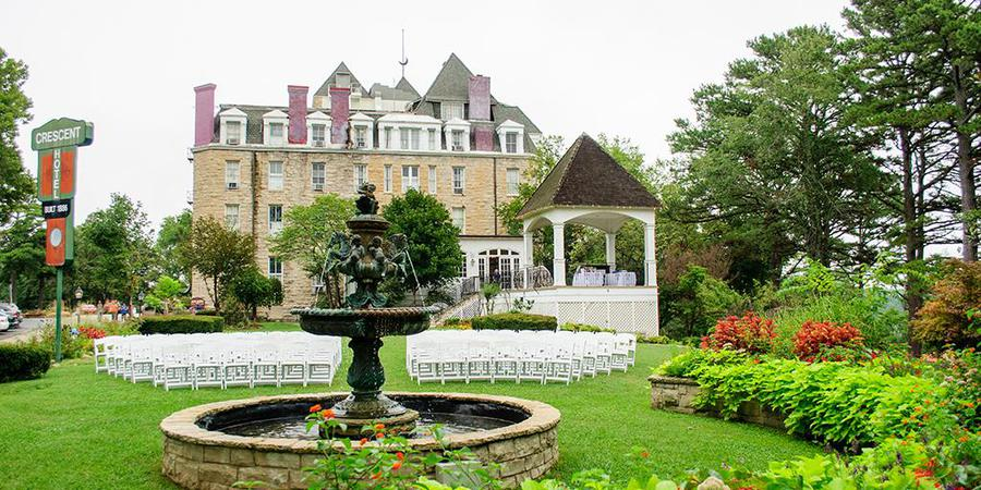 1886 Crescent Hotel & Spa wedding Arkansas