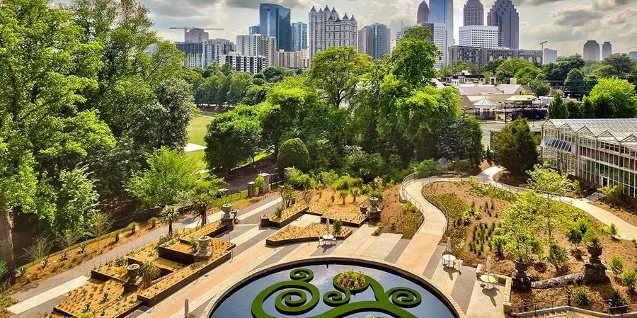 Atlanta Botanical Garden wedding Atlanta