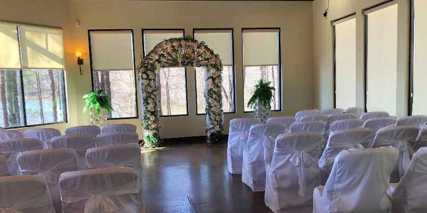 By The Water Event Center wedding Greenville