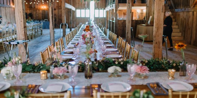 William Allen Farm wedding Maine