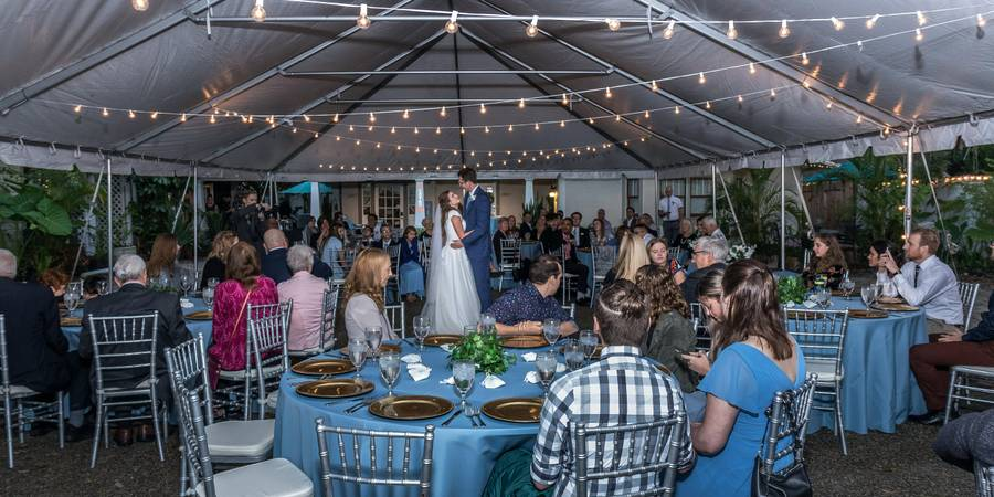 Park Place Inn and Cottages wedding Orlando
