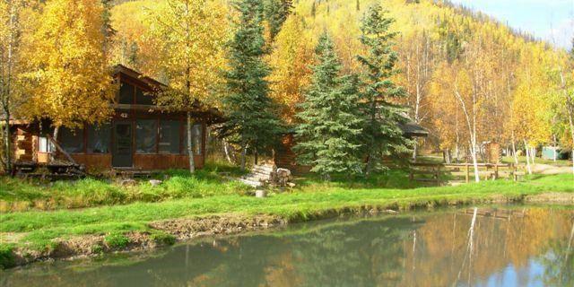 Chena Hot Springs Resort wedding Alaska