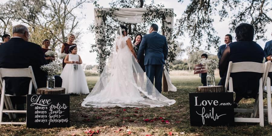 Schneider Hall wedding Houston