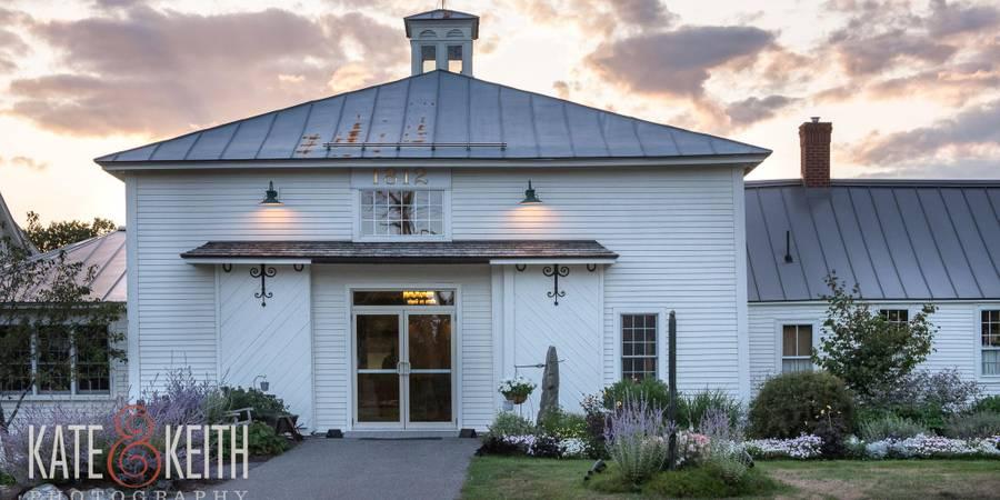 The 1812 Farm wedding Maine